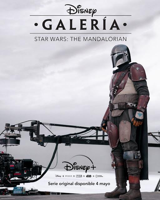 Cartel Galería Disney: Star Wars - The Mandalorian