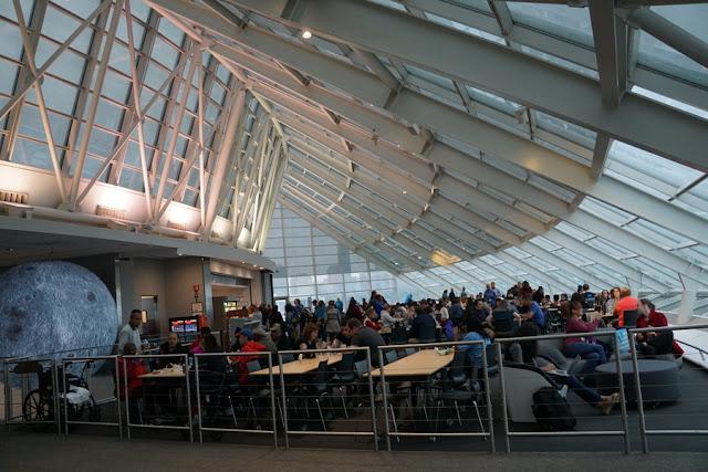 cafeteria do Adler Planetarium
