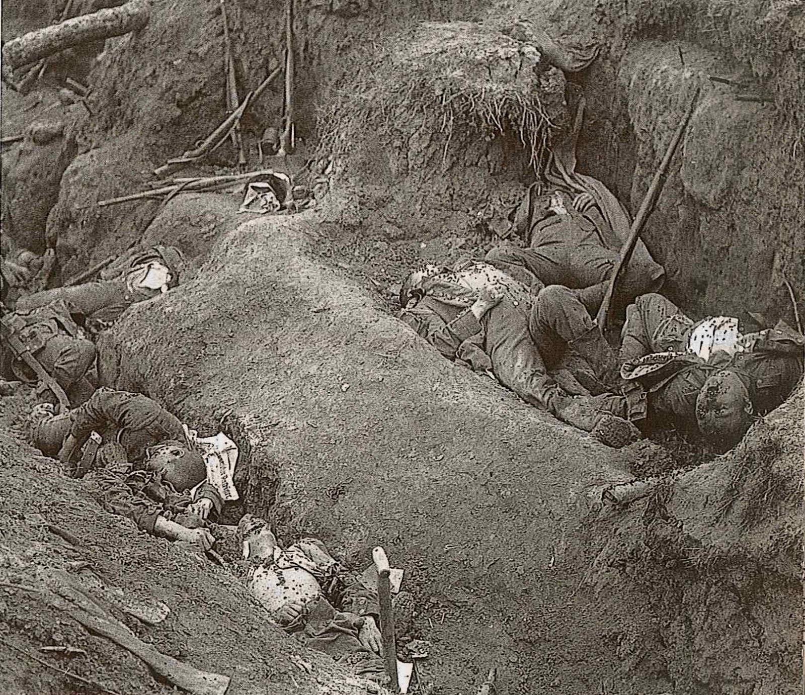 ドイツ 軍 塹壕 食事