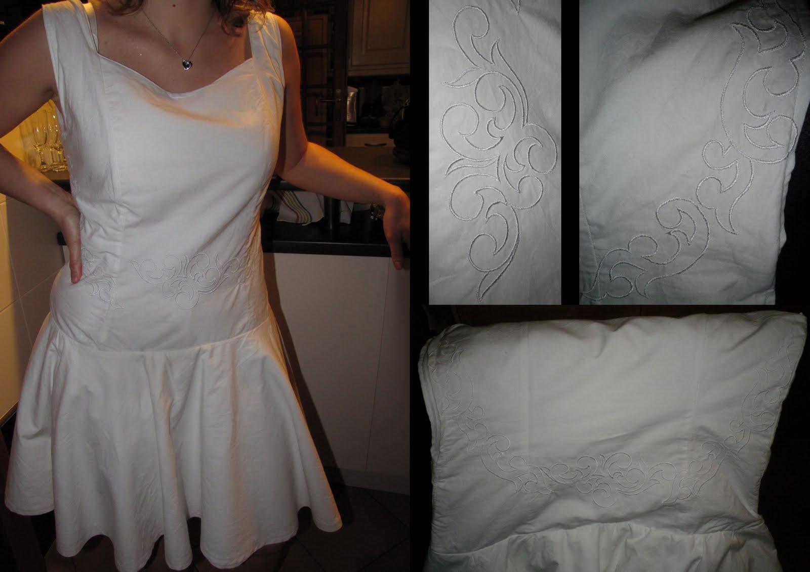 les bricol 39 d 39 la tortue robe de dirty dancing. Black Bedroom Furniture Sets. Home Design Ideas