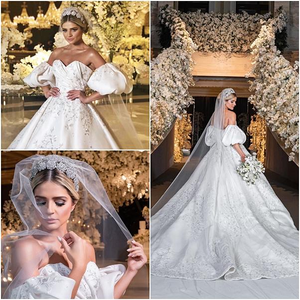 vestido de noiva Thássia Naves