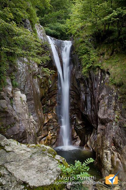 La cascata di Aurigeno