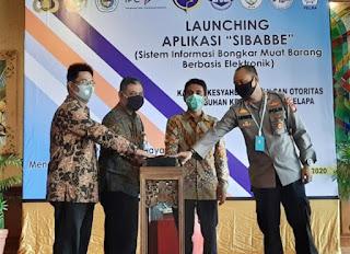 Aplikasi Layanan Bongkar Muat Online SiBABBE di Pelabuhan Sunda Kelapa Tunggu Ketetapan Dirjen Hubla