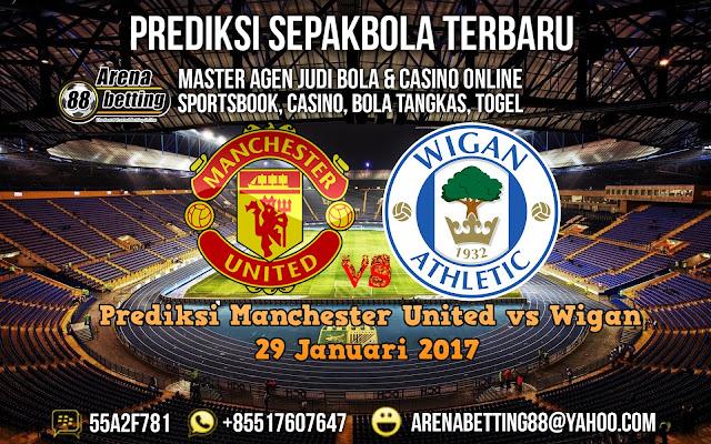 Prediksi Manchester United vs Wigan 29 Januari 2017