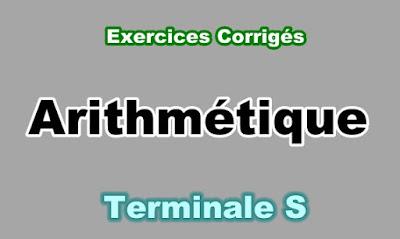 Exercices Corrigés Arithmétique Terminale S PDF