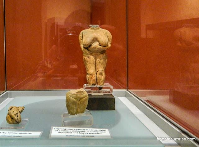 Vênus de Malta, Museu Nacional de Arqueologia, Valeta