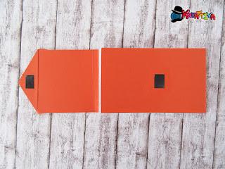 chiusura magnetica del blocchetto di carta fai da te