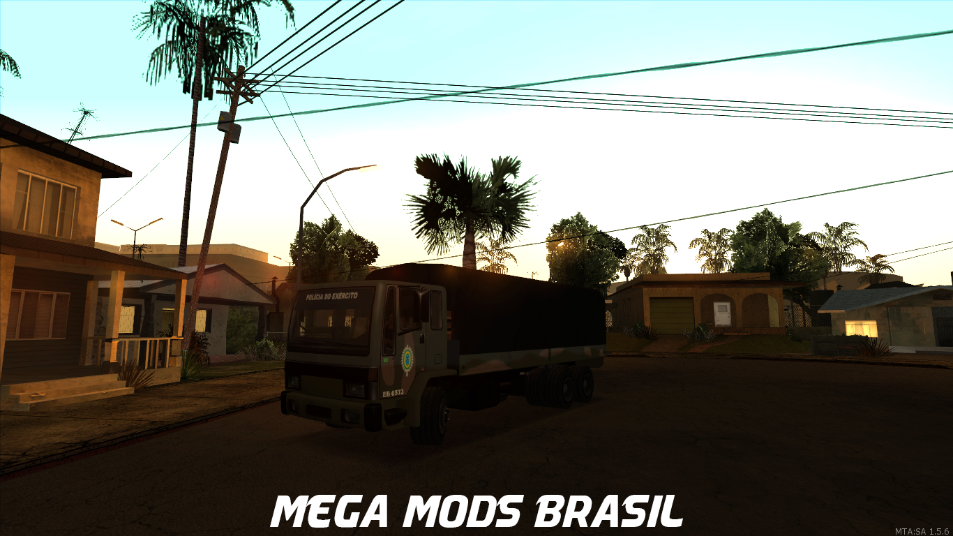 89835a8d43 MTA SA Caminhao Do Exercito BR - Mega Mods MTA BRASIL