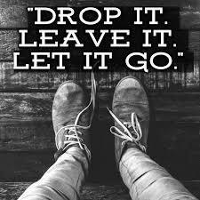 Drop It, Leave It, and Let It Go -Joel Osteen Devotional 29 December 2020