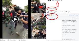Viral! Pria Pengendara ini Mobil Menyerang Anggota TNI, Kronologinya Sungguh Bikin Nyesek
