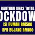 Bantuan Khas Total Lockdown : Bantuan Tambahan RM500, 300 & Bujang RM300