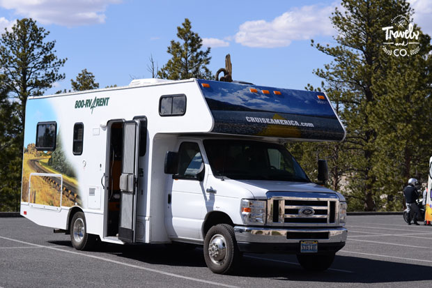 Viajar en autocaravana por Estados Unidos Cruise America