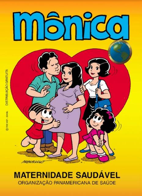 A Turma da Mônica: Maternidade Saudável