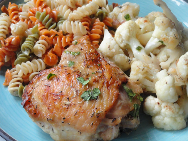 One-Skillet-Chicken-Cauliflower-Sprinkle-Lemon-Juice-Parsley.jpg