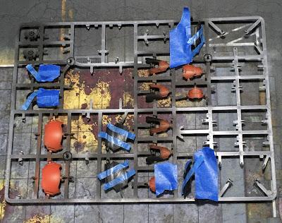 Adeptus Titanicus Legio Ignatum Warlord Titan WIP - armor plates