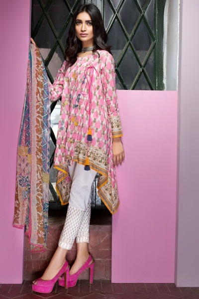 Khaadi Lawn 2017 Vol 1 Spring Summer Collection With