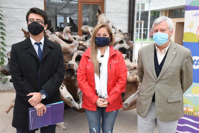 Felipe León, Paulina Concha y Carlos Geisse