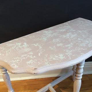 chalk paint annie sloan antoinette , pure white