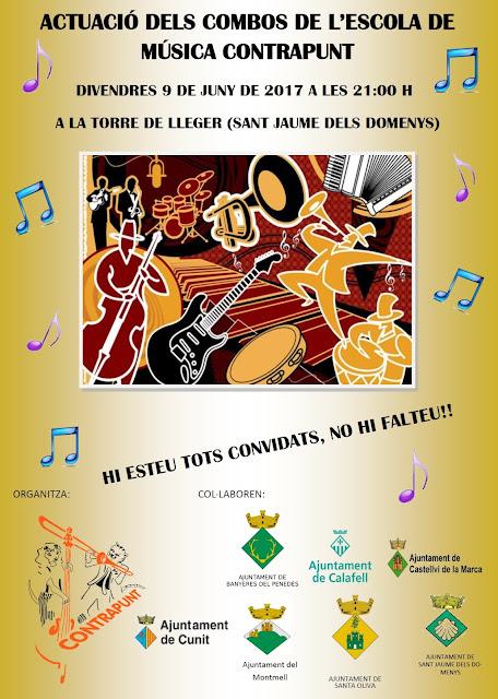 Esguard de Dona - Concert Combos Escola Contrapunt a Lletger - Sant Jaume dels Domenys