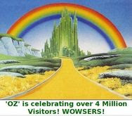 'OZ' is celebrating 4,000,000 Visitors