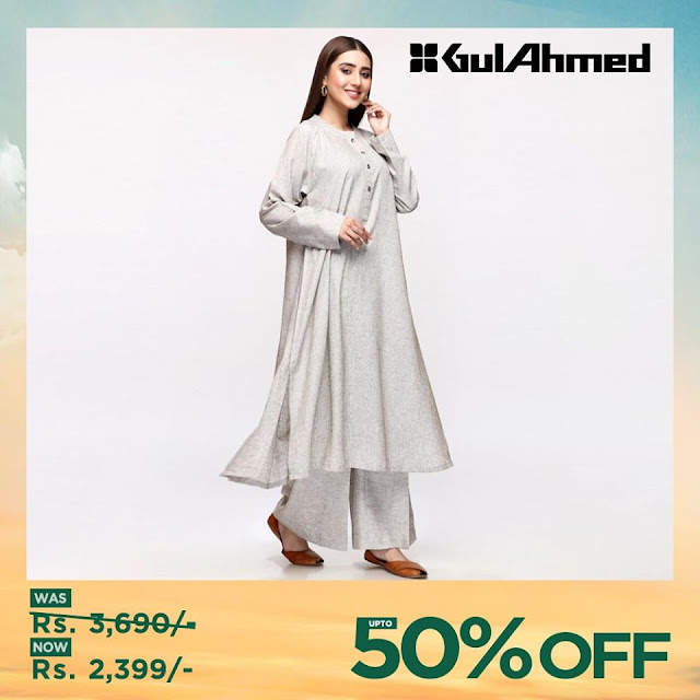 Gul Ahmed Women Sale unstitched summer collection