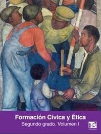 Libro de texto Telesecundaria Formación Cívica y Ética Volumen 1 Segundo grado 2019-2020