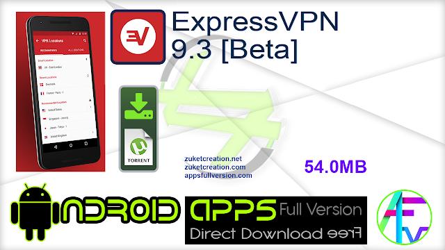 ExpressVPN 9.3 [Beta]