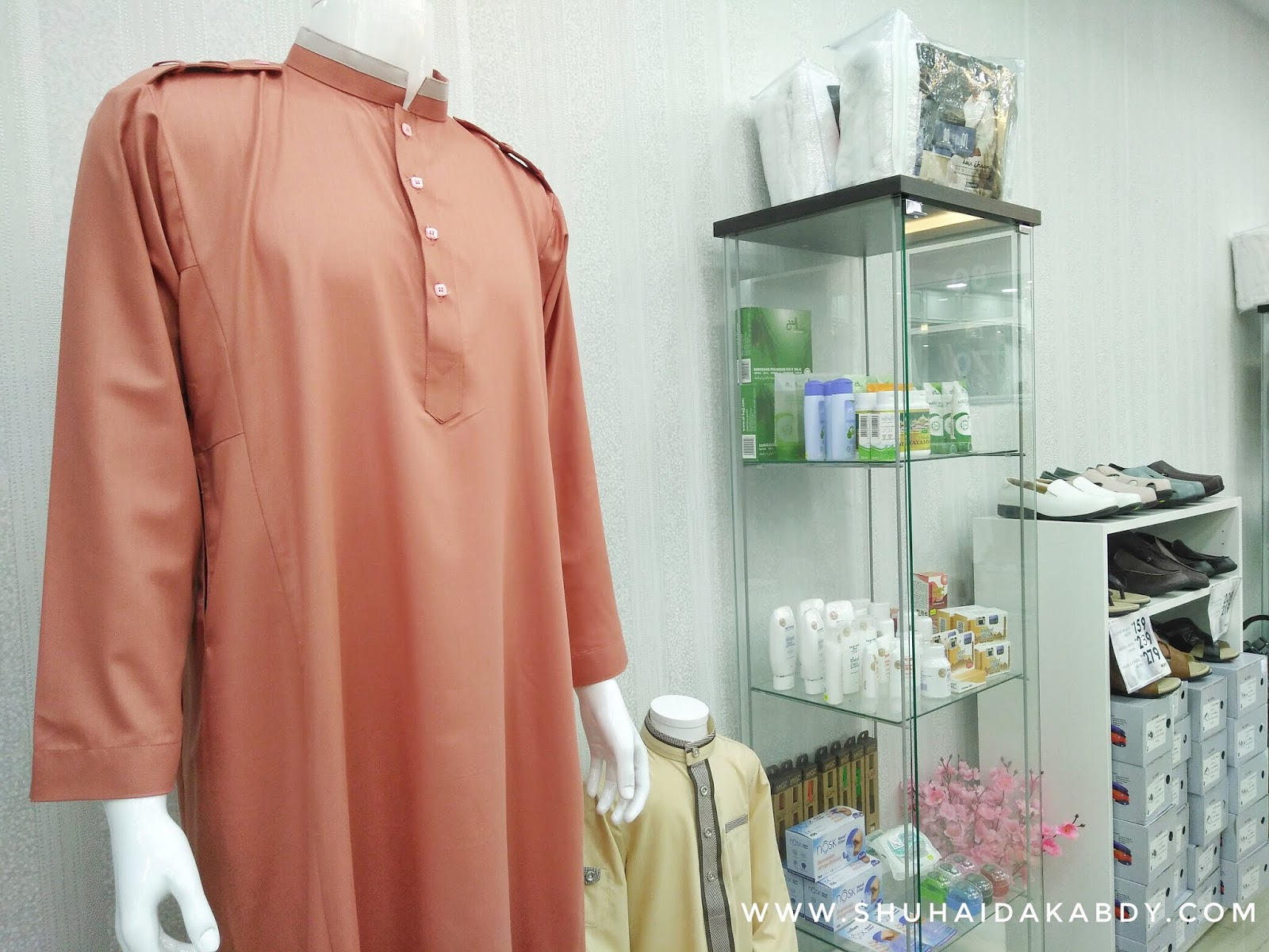Butik Haqqi Pilihan Fesyen Patuh Syariah