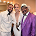 Lovely photo of Drake his dad and Celine Dion