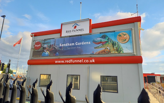 Sandham Gardens Adventure Golf advert in Southampton