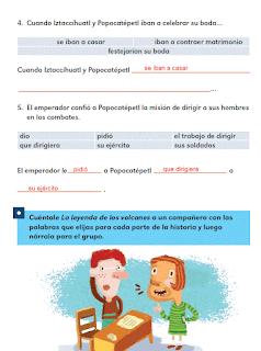 Respuestas Apoyo Primaria Español 2do grado Bloque 2 lección 8 Lo que se comunica con palabras