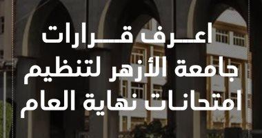 اعرف قرارات جامعة الأزهر لتنظيم امتحانات نهاية العام