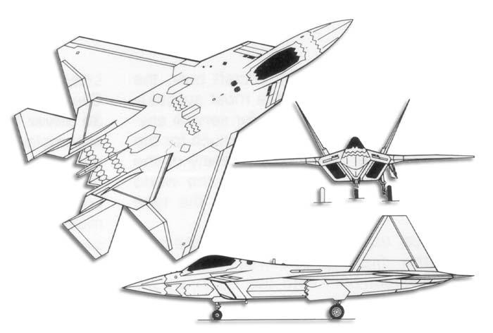IMAGINATION OF ANGGIAT: Spesifikasi F-22 Raptor Stealth