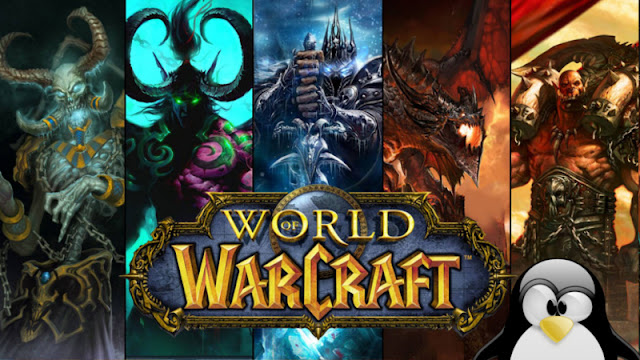 World of Warcraft no Linux