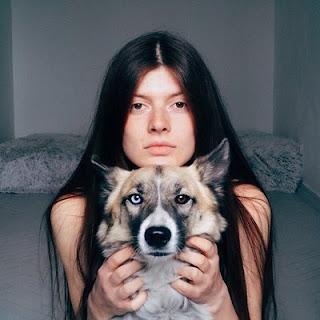 heterochromia, tatuaż, inspiracja, pies, dziewczyna