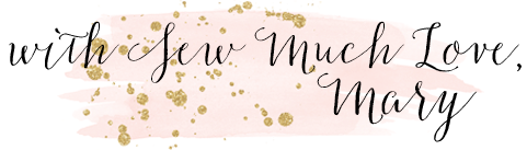 With Sew Much Love, Mary blog signature