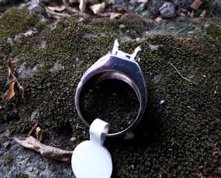 Ring Perak Hongkong 925 Kokoh Simpel PRK040 Harga Satuan
