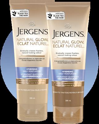 La crème Éclat naturel de Jergens