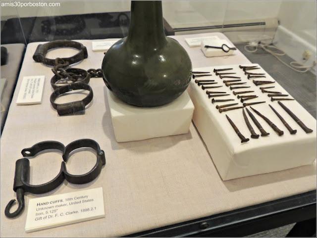 Objetos de la Esclavitud en la Mansión de John Brown en Providence, Rhode Island