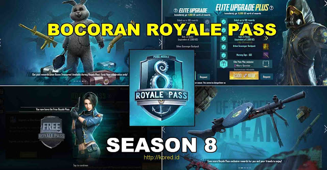 Bocoran Royale Pass Season 8 Pubg Mobile