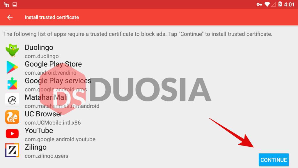 blokir aplikasi youtube android