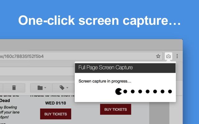تحميل برنامج تصوير الصفحة كاملة Full Page Screen Capture