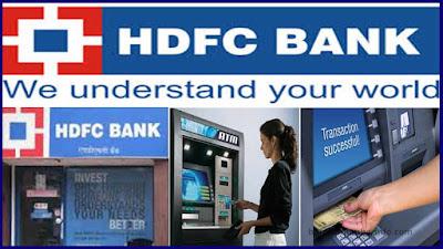 Activate HDFC Debit card in ATM