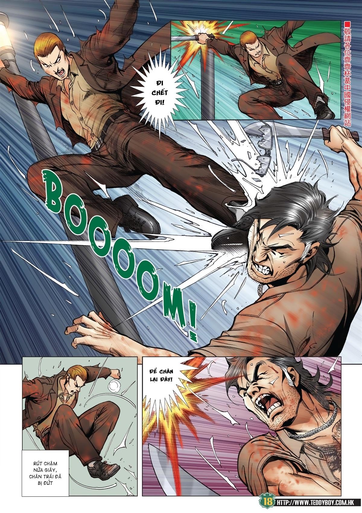 Người Trong Giang Hồ chapter 2033: kim tôn quý vs đại phi trang 15