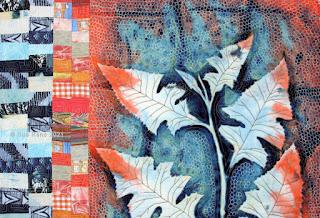 Dew Point by Sue Reno, detail 1