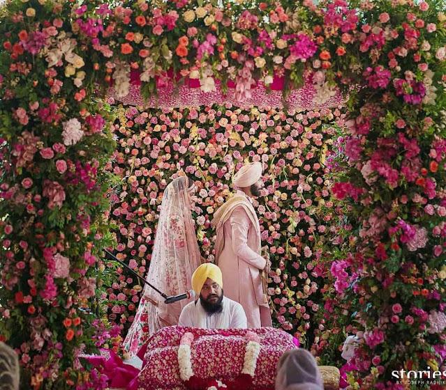Bumrah-Sanjana Wedding Pics