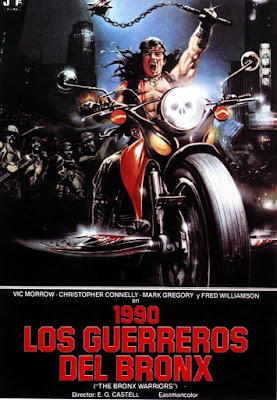 Póster película 1990 Los guerreros del Bronx