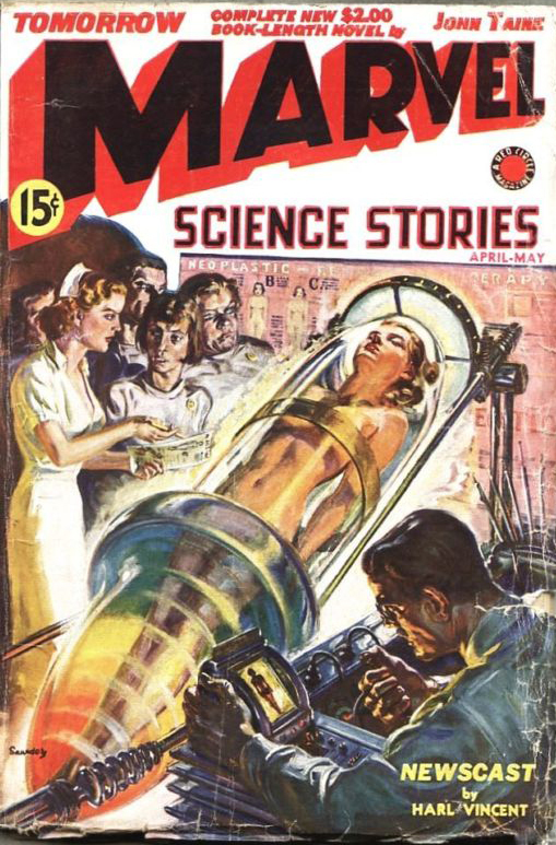Think, Mad scientist science fiction women naked really
