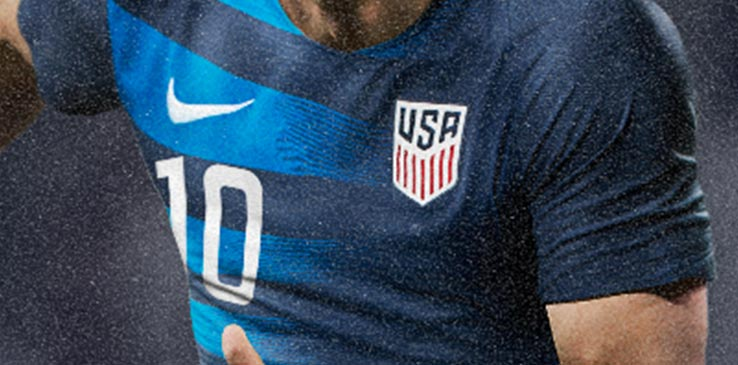 c7c63bd2a What do you think of the new Nike USA 2018 jerseys and font  Let us know in  the comments below.