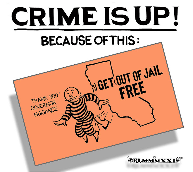 CRIME IS UP!